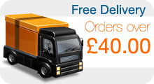 Free Delivery on orders over £40.00